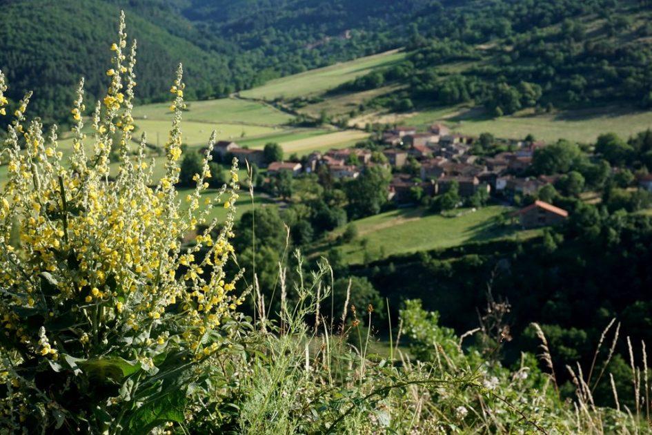 Dorp in de Auvergne